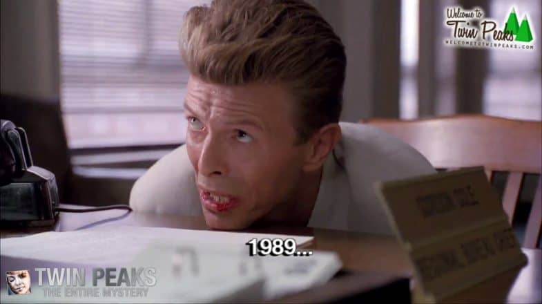 Twin Peaks: Fire Walk with Me deleted scene with David Bowie (1989)