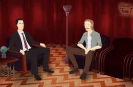 Twin Peaks Detectives: Dale Cooper and Rust Cohle in the Red Room