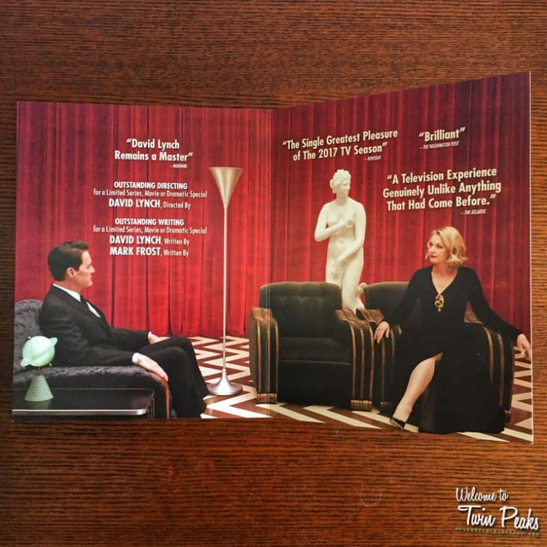 Twin Peaks Emmy 2018 Showtime screener