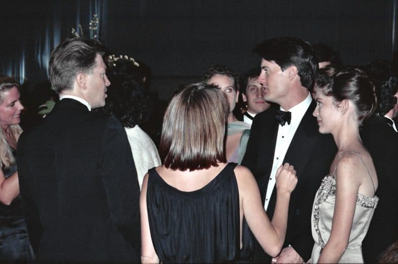 David Lynch / Gordon Cole & Kyle MacLachlan / Dale Cooper & Lara Flynn Boyle / Donna Hayward