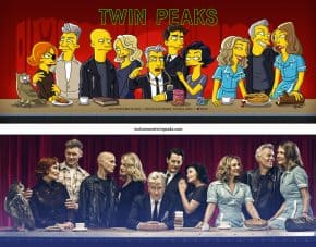 Twin Peaks - The Simpsons