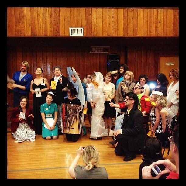 Twin Peaks Fest 2012 costume contest participants