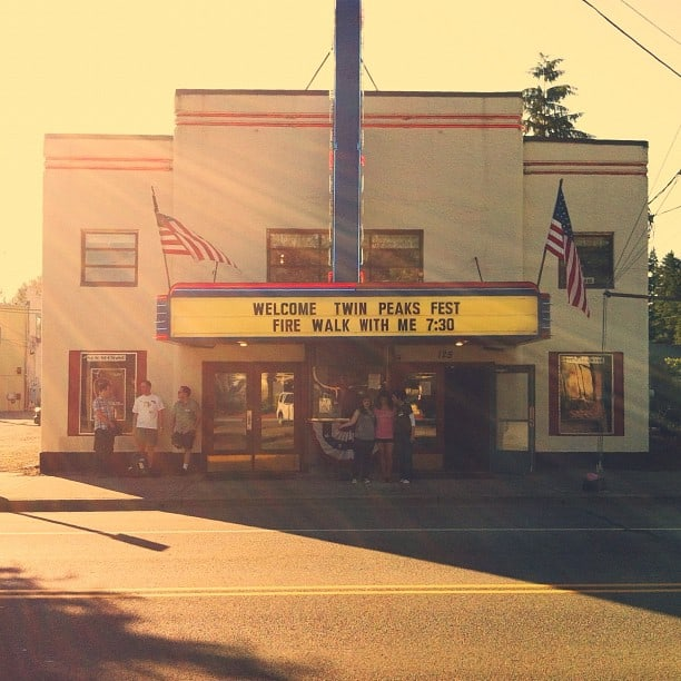 Twin Peaks: Fire Walk With Me screening at the North Bend Theater