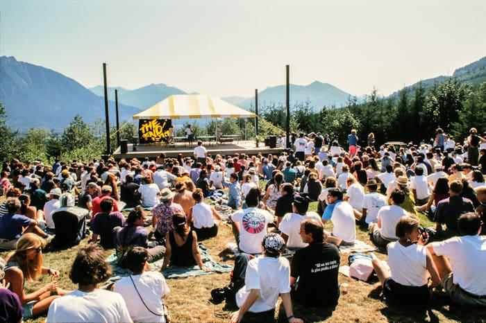 Twin Peaks Fest 1992 crowd