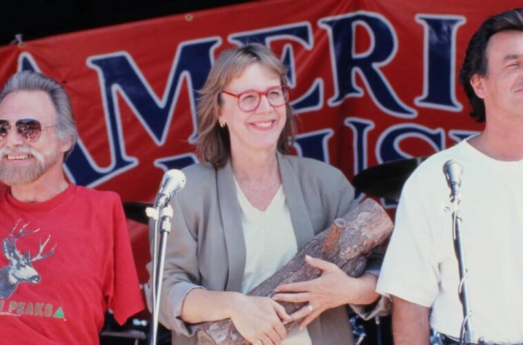 Al Strobel, Catherine E. Coulson and Ray Wise at the Twin Peaks Festival 1992