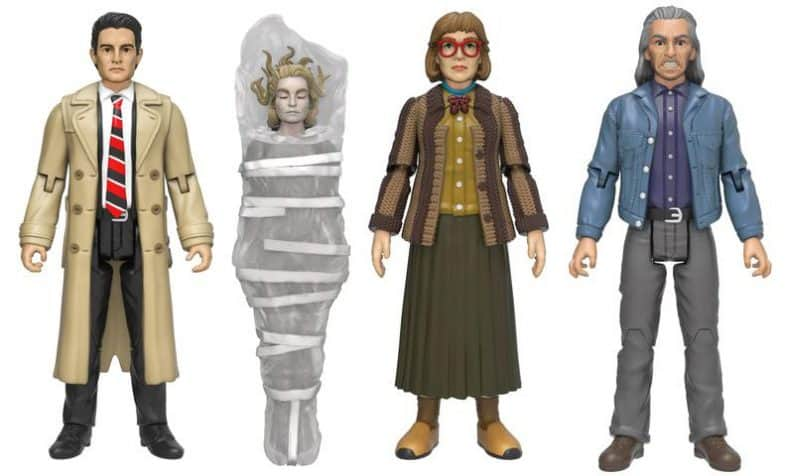 Twin Peaks Funko Action Figures: Dale Cooper, Laura Palmer, The Log Lady, Killer BOB