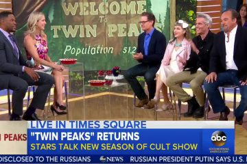 Twin Peaks on Good Morning America (5/17/2017)