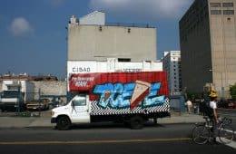 Twin Peaks Graffiti Truck