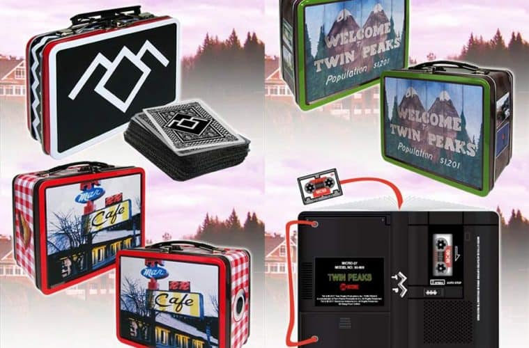 Twin Peaks lunch boxes and journal