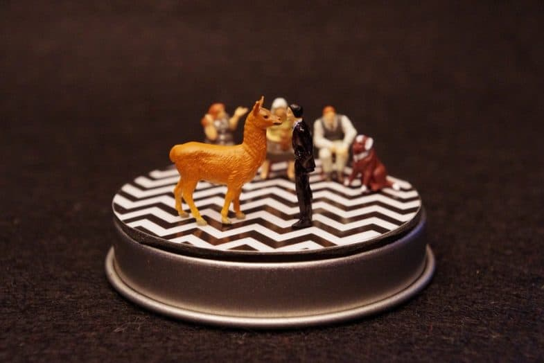 Twin Peaks miniature/diorama by Boxartig: Lydecker's vet office