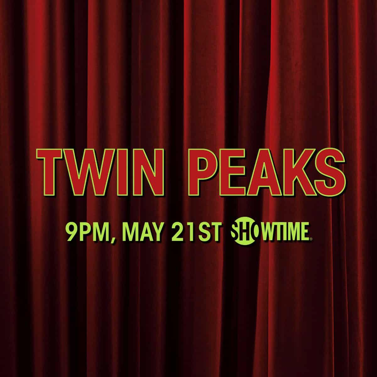 Two Hour Twin Peaks Premiere On May 21 Kicks Off 18 Hours