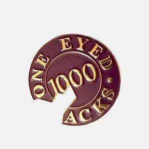 One Eyed Jacks poker chip pin