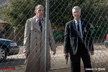 Twin Peaks Part 11 - Albert Rosenfield & Gordon Cole
