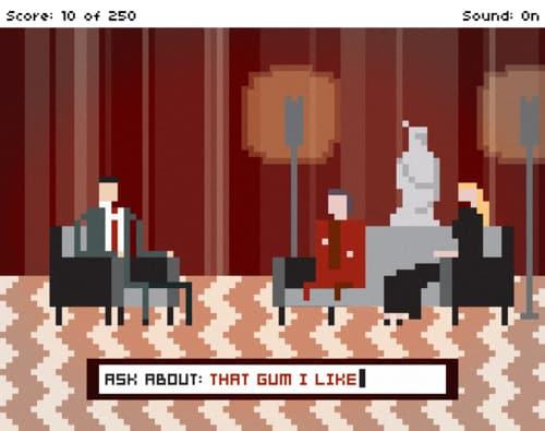 Twin Peaks Pixel Art: Gum