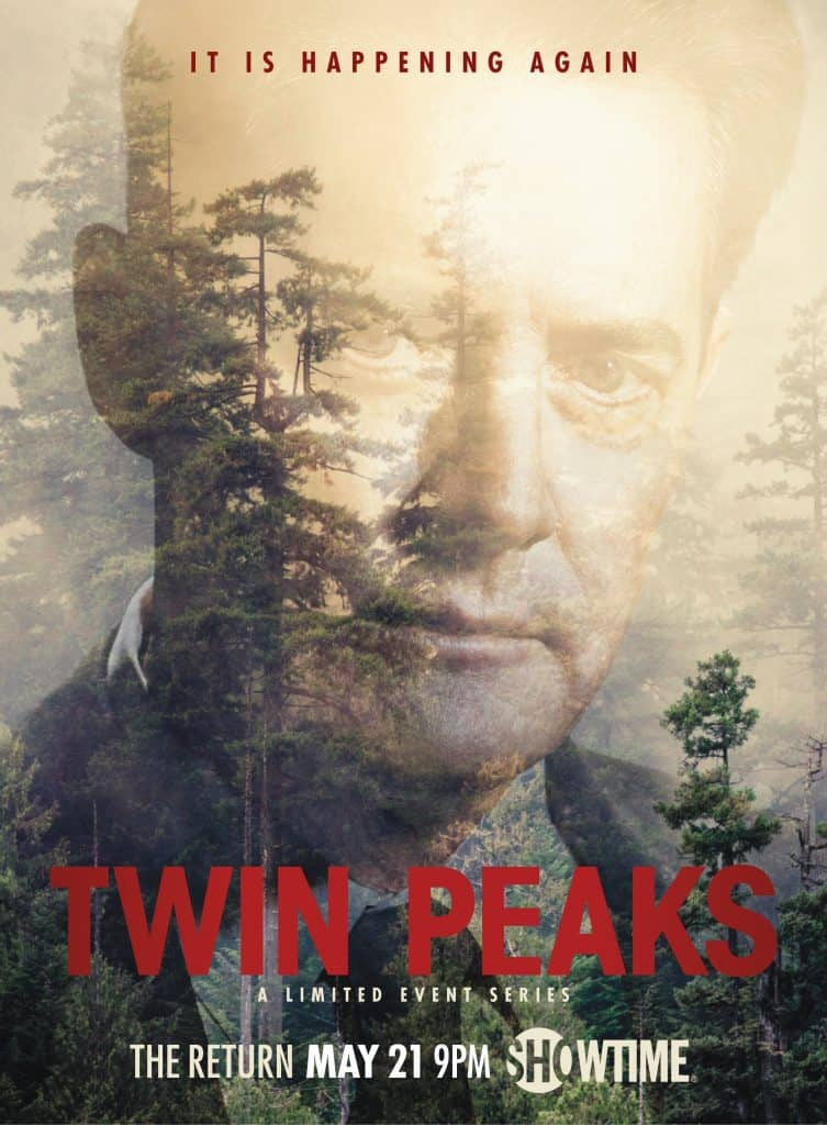 Official Twin Peaks - The Return poster: Dale Cooper