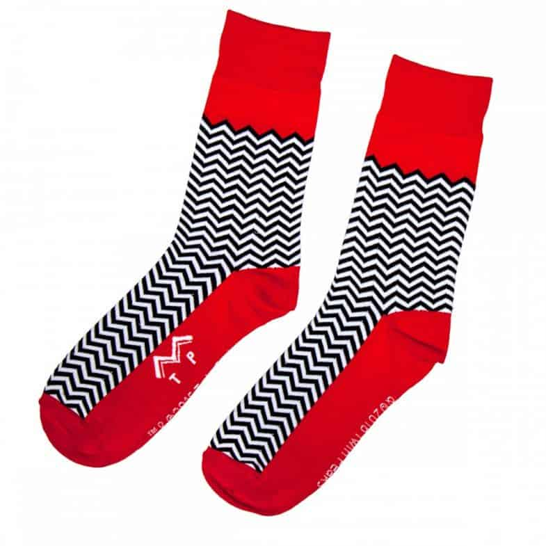 Official Twin Peaks Red Room Socks