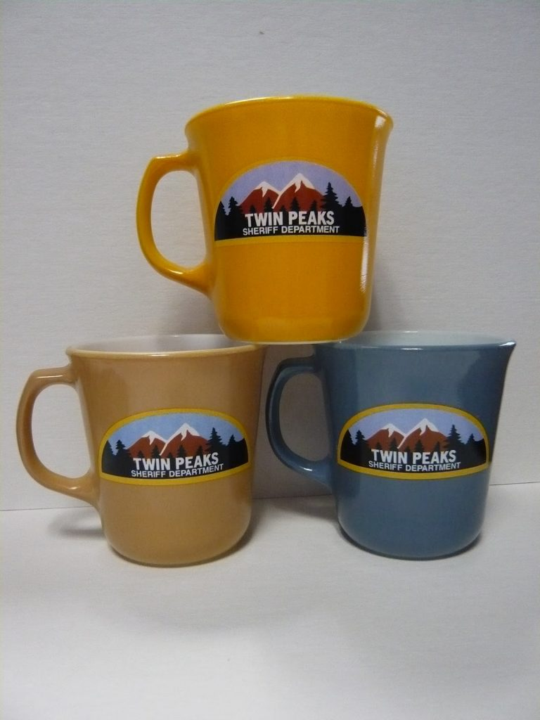Twin Peaks Sheriff Department mugs