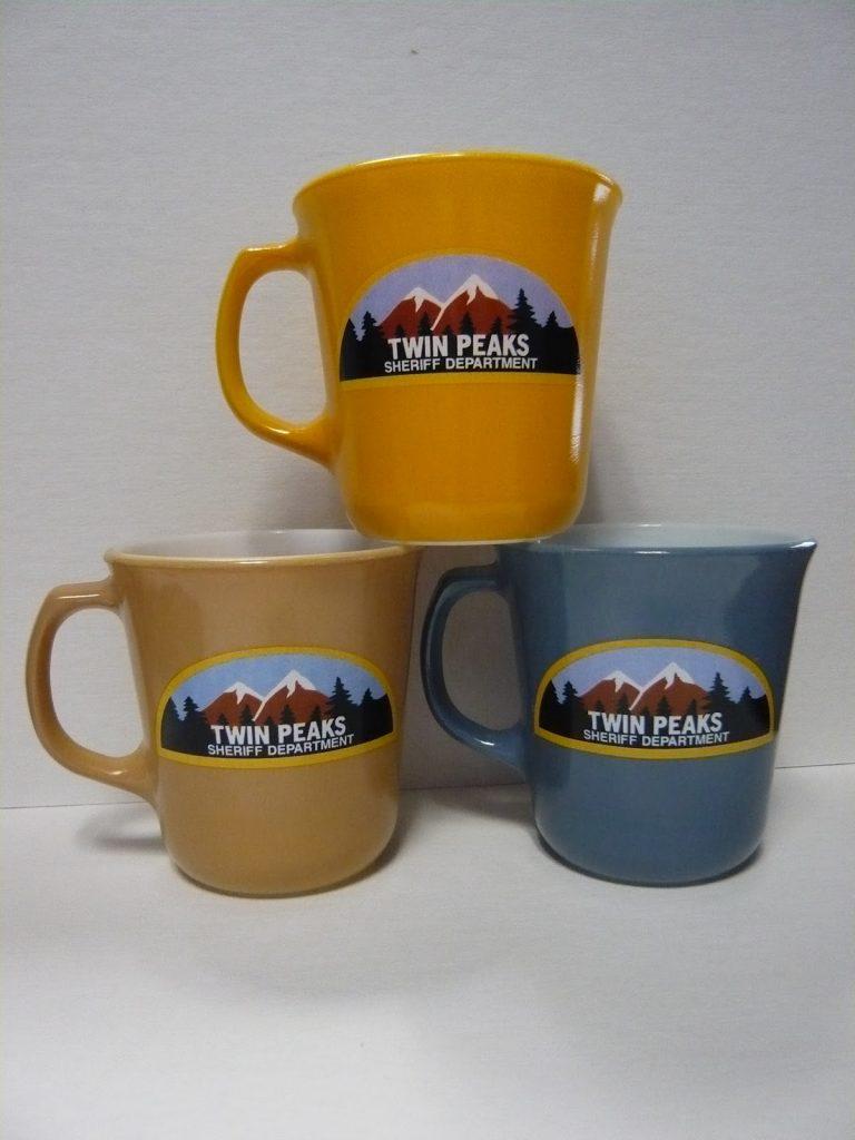 Twin Peaks Sheriff Department mugs