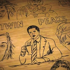 Twin Peaks Table At Film Theatre In Belfast