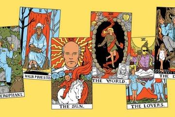 Twin Peaks Tarot Cards Deck