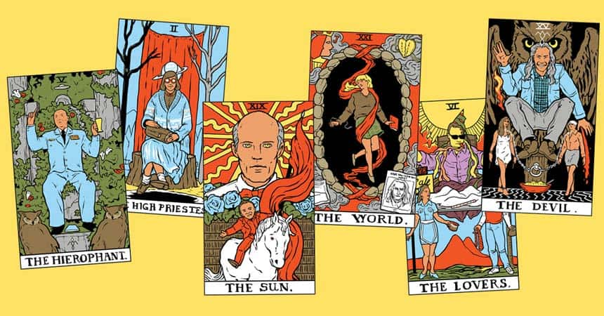 Twin Peaks Tarot Cards For The Magician Who Longs To See