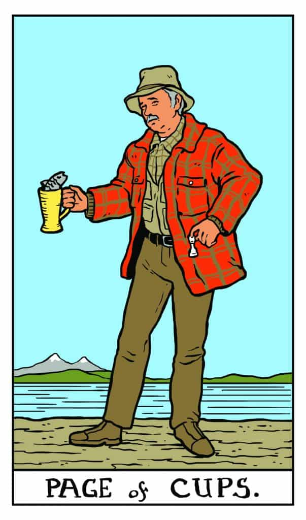 Twin Peaks Tarot: Page of Cups