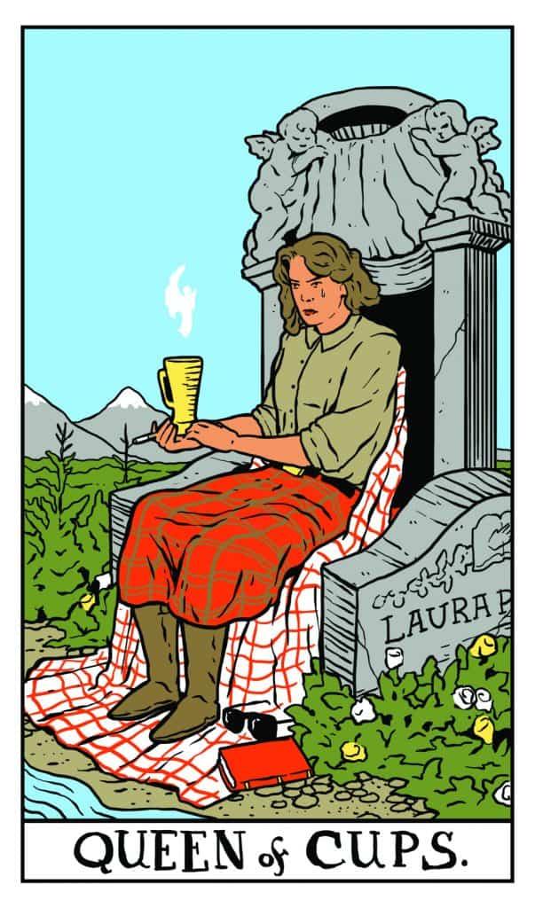 Twin Peaks Tarot: Queen of Cups