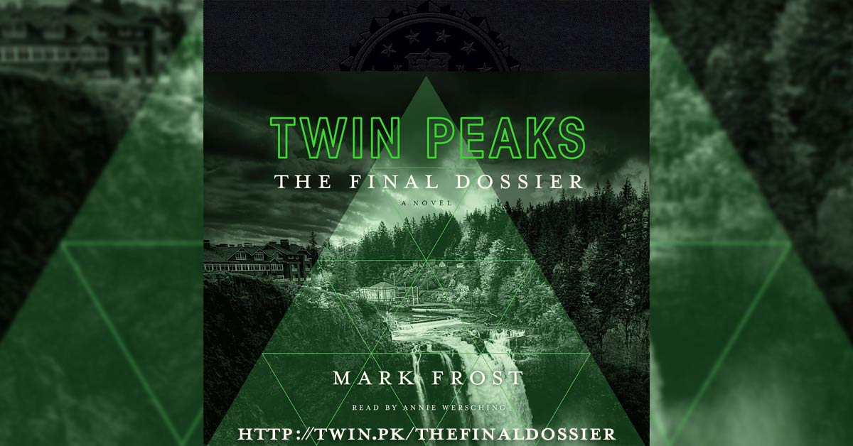"e78eaa2022f Exclusive ""Twin Peaks  The Final Dossier"" Audiobook Excerpt Reveals The  Death Of A Character From The Original Series"
