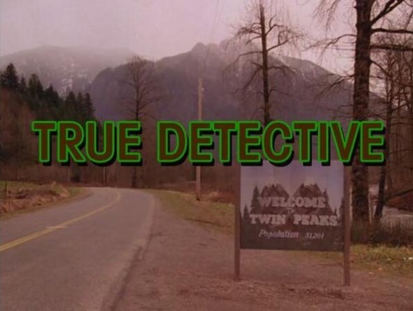 Twin Peaks X True Detective opening titles