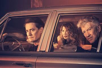 Twin Peaks Variety: David Lynch, Laura Dern, Kyle MacLachlan