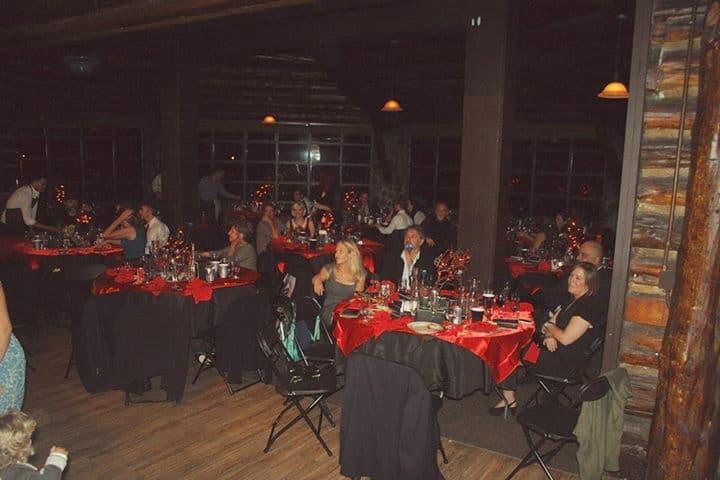 Twin Peaks wedding: Presidio log cabin