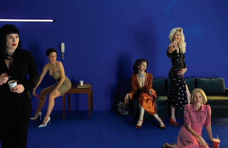 W Magazine: David Lynch's women - Naomi Watts, Laura Dern, Hailey Gates, Patricia Arquette, Chrysta Bell