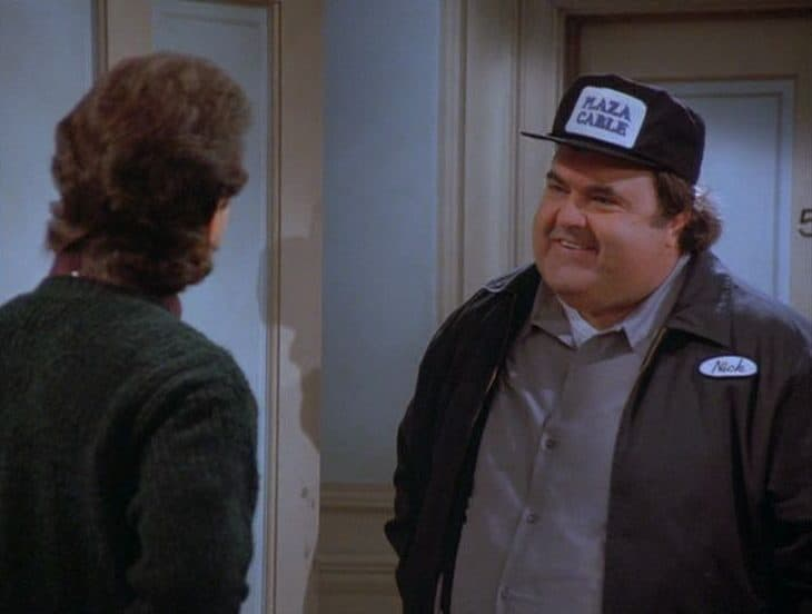 Walter Olkewicz as Nick, the cable guy in Seinfeld