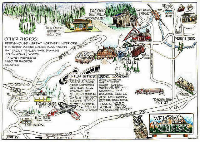 Welcome to the real Twin Peaks map