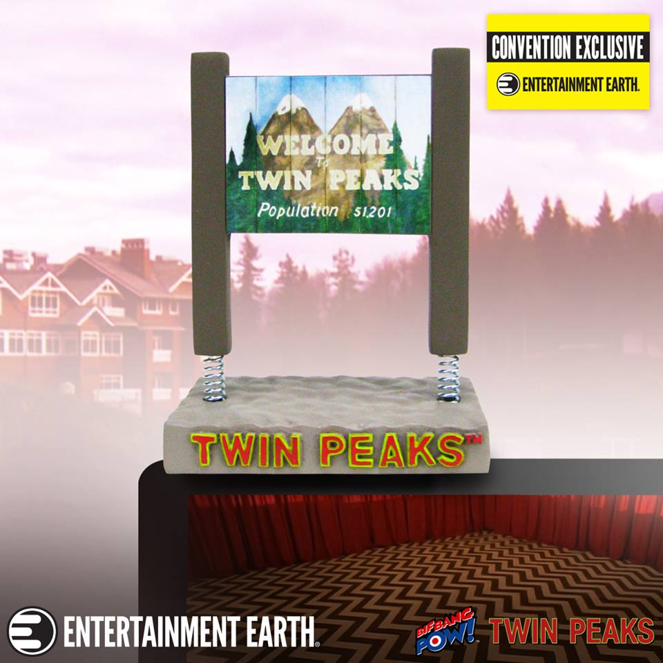 Welcome to Twin Peaks monitor mate bobblehead
