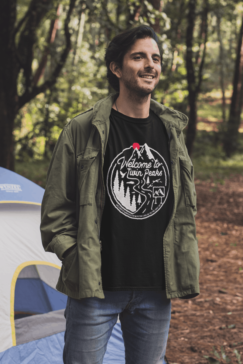 Welcome to Twin Peaks Logo T-Shirt