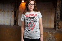 Welcome to Twin Peaks map t-shirt (1)