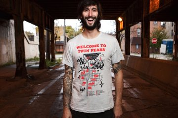 Welcome to Twin Peaks map t-shirt (2)