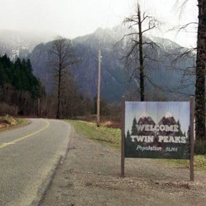 We Found The Man Who Painted The Famous Welcome To Twin Peaks Sign