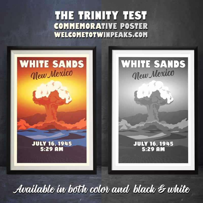 White Sands, New Mexico (July 16, 1945) Poster