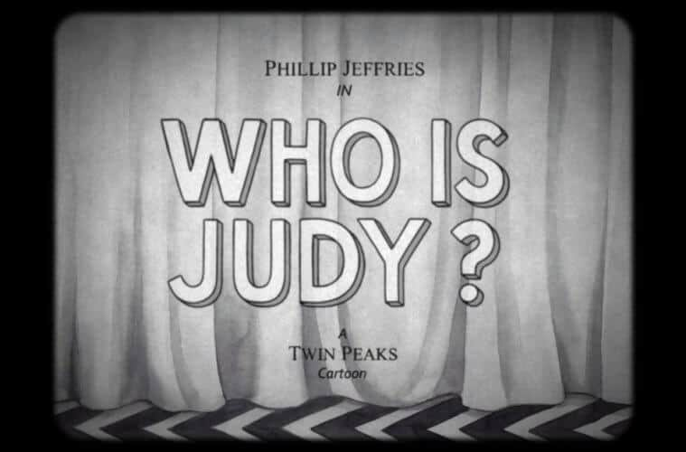 Twin Peaks: Phillip Jeffries as a '30s animated cartoon