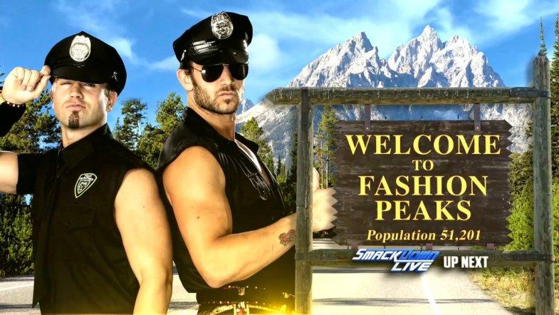 Fashion Peaks WWE Twin Peaks