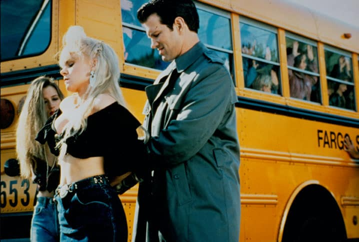 Yvonne Roberts and Chris Isaak