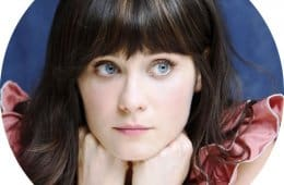 Zooey Deschanel, a Twin Peaks kid